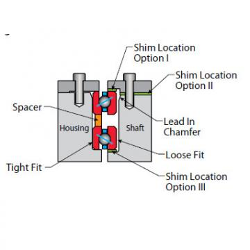 KF200AR0 Thin Section Bearings Kaydon