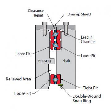 K13008CP0 Thin Section Bearings Kaydon