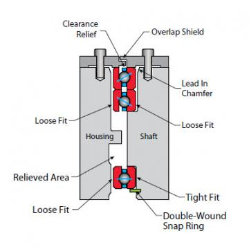 NF080AR0 Thin Section Bearings Kaydon
