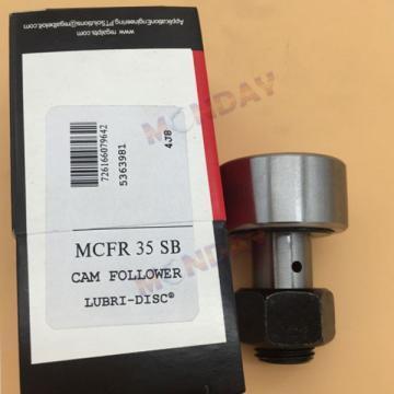 MCFR 35 SB Cam Follower Precision Bearings