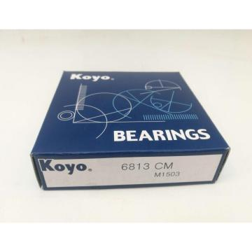 6813 CM KOYO deep groove ball bearing