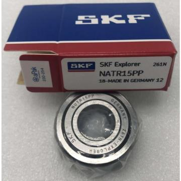 NATR 15 PP SKF Support rollers with flange rings, with an inner ring