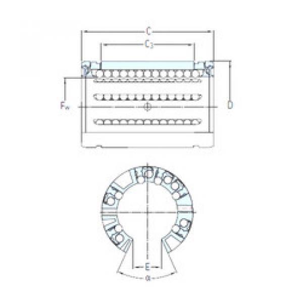 LBCT 50 A SKF Linear Bearings #1 image